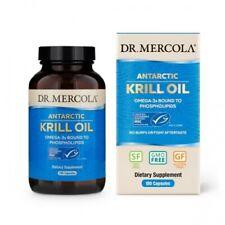 Dr. Mercola, el aceite de krill, peces cápsulas de gelatina caplique 180