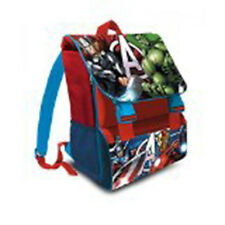 Rucksack Avengers Wunder Erweiterbare Blaue Farbe Superhelden Kinder