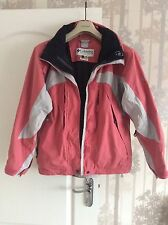 Authentic Colombia Ladies Hiking Tracking Jacket Coral Pink UK M Immaculate!