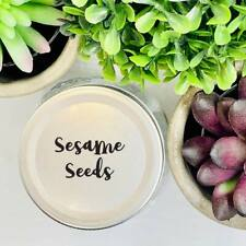 96 Spice Jar Labels  - Design 14