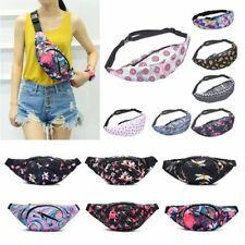 Colorful Printing Women Waist Bag Packs Belt Bags Travel Waist Packs Female Girl