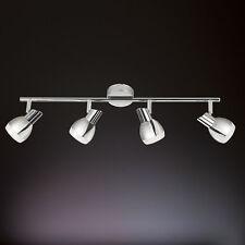 wofi LED Ceiling Light Nantes 4-flg Chrome Adjustable 20 Watt 1600 Lumens Spot