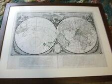NOUVELLE MAPPE MONDE-Dediee Au Progres De Nos Connoissances(F. Santini, 1778)