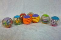 "Sensory Blocks Balls 2"" Rattle 9"" Baby Puzzle Cube Toy"