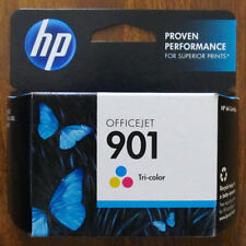 HP 901 Tri-Color Ink Cartridge CC656AN#140 in Retail Packaging