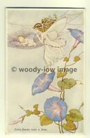 su1286 - Ida Outhwaite - Fairy Beauty Rocks a Babe - postcard