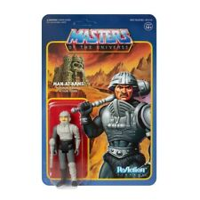 Masters Of The Universe Reaction Action Figura Man-At-Arms Movie Fáciles Funko