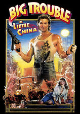 Framed Cult Classic Movie Print – Big Trouble in Little China 1986 (Picture Art)