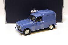 1:18 Norev Renault 4 Fourgonnette 1965 blue NEW bei PREMIUM-MODELCARS