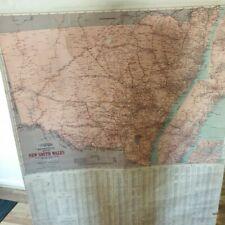 Tourist Map of NSW- Vintage