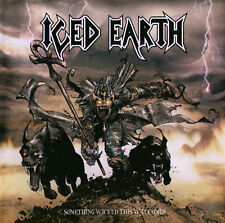 CD ICED EARTH SOMETHING WICKED THIS WAY COMES + 3 BONUS TRACKS BRAND NEW SEALED