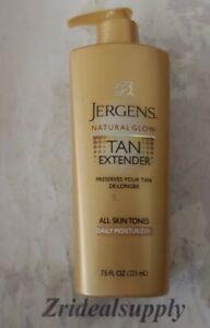 Jergens Natural Glow Tan Extender Daily Moisturizer 7.5 oz