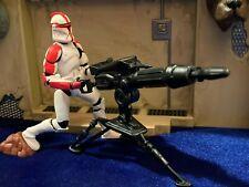 Star Wars Saga #17 E2 AOTC Clone Trooper loose, complete