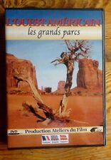DVD L'OUEST AMERICAIN - LES GRANDS PARCS