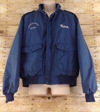 Vtg Whirlpool Work Jacket Mens XL Full Zip Hendricks Heating & Cooling Blue USA