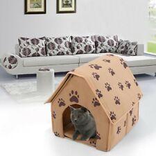 Soft Animal Shape Pet Dog Cat Bed House Kennel Puppy Warm Cushion Basket Pad Us