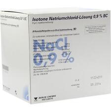 ISOTONE NaCl Lösung 0,9% BC Plast.Amp.Inj.-Lsg. 20X20 ml PZN 2337181