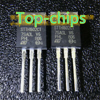 2 pcs STTH1602CT HIGH EFFICIENCY ULTRAFAST DIODE ST New TO-220