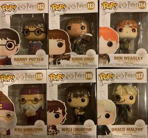 Funko Pop! Harry Potter: Wizarding World Lot Of 6 - 112, 113, 114,115,116,117