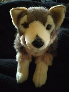 Wolf Kuscheltier Weich Und Flauschig Ca 20cm