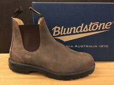 BLUNDSTONE UK 7,5 RUSTIC BROWN 100% ORIGINALI NUOVE !!!