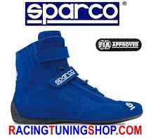 SPARCO RACE SHOES BLU HIGH BOOTS FIA 8856-2000 TOP SH5 RALLY SCHUHE BLA Größe 48