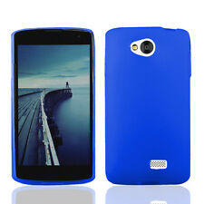 FOR LG TRIBUTE LS660 / F60 /MS395 BLUE 1-PC TPU SOFT SILICONE SKIN CASE COVER