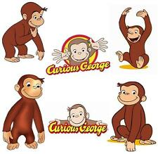 Curious George # 20 - 8 x 10 - T Shirt Iron On Transfer