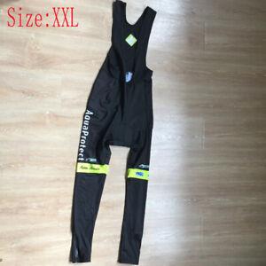 Mens Cycling Bib Pants Gel Pad Bicycle Tights Pants Team Bike Trousers Size XXL