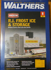 Walthers N #933-3220 R.J. Frost Ice & Storage