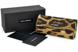New Case Dolce Gabbana Sunglasses Leopard Hard D & G Eyeglasses Sunglass Glasses