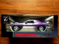 HIGHWAY 61 1/18 PLUM CRAZY CUDA CONCEPT CAR ITEM # 50839 FACTORY SEALED