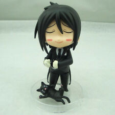 Nendoroid Black Butler Sebastian Michaelis PVC Action Figure Toy Doll #68 4inch
