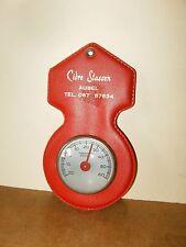 Ancien thermomètre publicitaire - CIDRE STASSEN ( Aubel , Liege , Herve ) - 60's