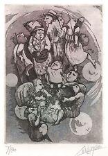 Ex Libris Lies van Vlijmen : New Year's Card 1997 (7/80)