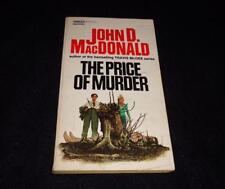 "Gold Medal M2850 $0.95 cover John D MacDonald ""PRICE of MURDER"" McGinnis"