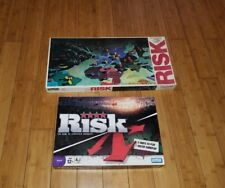 Risk Board Game 1980 Parker Brothers World Conquest Roman Numeral & strategy one