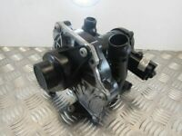 2017 Audi S3 2.0 TFSI DJH. Thermostat Housing + Water Pump 06L121111J 22K