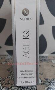 Neora (Nerium) Age IQ Night Cream 30 ml, Sealed, NEW!!