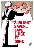 ADVERTISEMENT FRENCH SOAP ART NOUVEAU SAVON COSMYDOR ART POSTER PRINT LV377