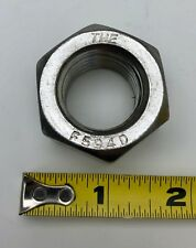 """New listing x1 New Fastenal 1""""-8 18-8 Stainless Steel Finished Hex Nut 70719 F594D FreeShip"""