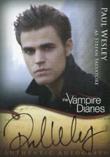 Vampire Diaries Season One Paul Wesley as Stefan Salvatore Autograph Card A2