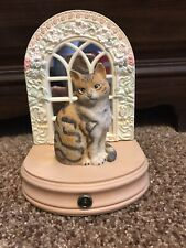 """San Francisco Music Box 1991 Ivory Cats """"Octopussy"""" by Lesley Anne Ivory"""