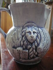 Brocca da 2 litri Veneta in ceramica smaltata - Leone veneziano