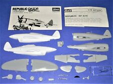 Airmodel #224, 1/72 XP-47H Conversion Kit, Bagged with Extra Parts