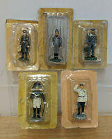 5 Russian Lead / Metal Historical Minifigures - DongFong Chen / Key Legend ?
