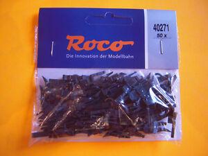 Roco H0 40271 50x Kupplungen NEM Vorentkupplung NEU KK mit Vorent-Kupplung OVP#1