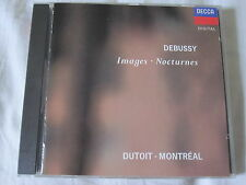Claude Debussy Images Nocturnes Charles Dutoit  CD