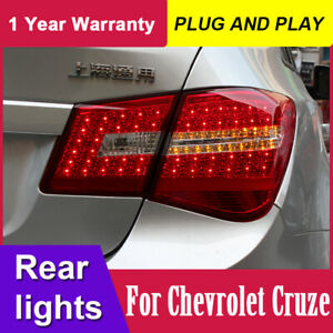 For Chevrolet Cruze LED Tail Lights Year 2009-2014 RED LED Rear Lamp Assembly