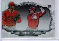 2018 Bowman Sterling Shohei Ohtani Rookie RC Refractor Card #BS-SO
